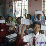 School for children from poor families - India